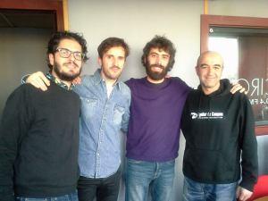Juanma R. Pachón, Julián López y Mikel Alvariño